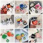 Cute Fun AirPods Silicone Case Protective Skin For A pple Airpods Charging Case $8.75  on eBay
