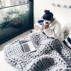 Handmade Blanket Soft Warm Solid Practical High Quality Durable Winter Blanket image
