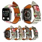 Women Luxury Leather Watch Band For A pple Watch Series 4/3/2/1 38/42mm 40/44mm
