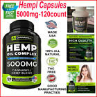Organic Hemp Capsules 5000mg Drops Pain Relief Reduce Stress Joint Support Sleep $9.99 USD on eBay