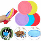 Внешний вид - Dog Frisbee Toy Exercise Pet Training Tool Silicone Puppy Saucer Flying Disc New