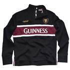 Mens Polo Shirt Guinness Long Sleeve 70% Cotton, 30% Polyester