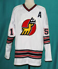 CUSTOM NAME  MICHIGAN STAGS WHA HOCKEY JERSEY 1970s SEWN NEW ANY SIZE