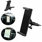 "360° Universal CD Slot Car Mount Holder Stand for Cell Phone & 8-10"" Tablets Pad"