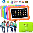 """Kids 7"""" Tablet Unlocked Android PC Notebook Quad Core Dual Camera 3G Wifi 1080P"""