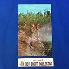 Boy Scout Camp Postcard Winnebago Scout Reservation Scouts Fishing