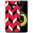STUFF4 Gel/ TPU Phone Case for LG V50 ThinQ 5G / Red Fashion