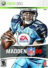 EA Sports Madden 08 2008 NFL Video Game Xbox 360 New