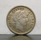1913 BARBER DIME ** NICE HIGH GRADE COIN WITH SOME LUSTER! (LOT F)