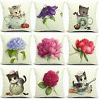 Declaration of love Cotton Linen Pillow Cover Sofa Cushion Covers Pillow Cases