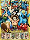 One Piece 2018 calendar wall-mounted