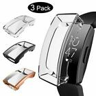 Kmasic 3 Pack Screen Protector Compatible Ftibit Inspire Hr, Tpu Plated Screen P