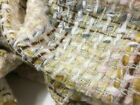 Brand New High Class Multicolored Check Wool Boucle Fabric 59