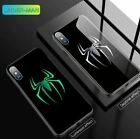 Marvel DC Avengers Luminous Glass Case For iPhone 6 7 8+ X XR XS Max 11 PRO MAX