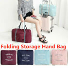 Foldable Large Duffel Bag Luggage Storage Bag Waterproof Travel Pouch Tote Bag image