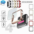 For A pple Watch Series 4 3 2 Bumper Case 40/44mm + Full Cover Screen Protector