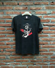 VTG rare - T shirt - ALICE IN CHAINS lesson - top reprint - USA size - BLACK image