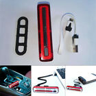 USB Rechargeable Bike Tail Light Set Bicycle Safety Rear Warning LED Light Lamps