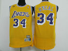Los Angeles Lakers #34 Shaquille O'Neal Yellow Basketball Jersey Size: S - XXL on eBay