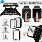 For A pple Watch Series 4/3/2/1 iWatch 38/44mm 360º Full Protective Case Cover