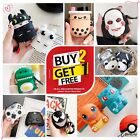 Cute 3D AirPods Silicone Case Protective Cover Skin For AirPod Charging Case $7.99  on eBay