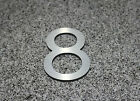 Large Modern Metal House Numbers 6 - 12 Inches Tall