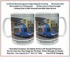 STM002M. Photo Mug - SStagecoach Manchester 19293  MX08 GUE in Magic Bus Livery