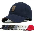 Cotton Baseball Cap Sports Golf Snapback Outdoor Simple Solid Hats For Men TK