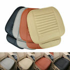 Car Front Seat Cushions Protector Mat Cover Edge Wrapping Interior PU Leather