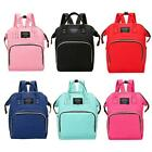 Mummy Maternity Travel Backpack Large Capacity Baby Nursing Diaper Handbag Bag