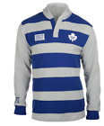 KLEW NHL Men's Toronto Maple Leafs Striped Rugby Pullover Hoodie, Blue / Grey $44.99 USD on eBay