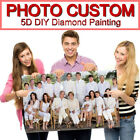 Photo Diamond Painting 5D Full DIY Drill Custom Embroidery Cross Stitch Family