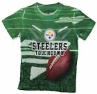 Pittsburgh Steelers TOUCHDOWN NFL Youth T-Shirt Shirt, Green $8.99 USD on eBay