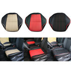 Universal Deluxe PU Leather Car Cover Seat Protector Cushion Back Front Cover 3D