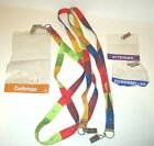 EBAY LIVE!  CONVENTION EVENT LAS VEGAS 2006 ATTENDEE LANYARD ID CLIP STRAP LOT/3