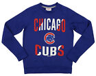 Outerstuff MLB Youth/Kids Boys Chicago Cubs Performance Fleece Sweatshirt, Royal on Ebay
