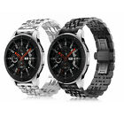 For Samsung Gear S3 / Galaxy Watch 46mm Bands Stainless Steel Replacement Strap image