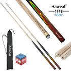 58'' Full Length Ash WOODEN Snooker Pool Billiard Cues Stick SET ,9.5mm Tips $33.88 AUD on eBay