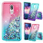 For LG K40 Solo LTE  X4 2019 Phone Case Liquid Quicksand Floating Bling Diamond $5.96 USD on eBay