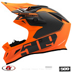 New 2020 509 Altitude Carbon Fiber R-Series Snowmobile Helmet Orange LG XL