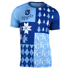 FOCO MLB Men's Kansas City Royals Busy Block Ugly Crew Neck Tee on Ebay