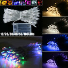 10/20/30/40/50/100 Led Battery Operated Fairy String Lights Lamp Home Xmas Decor