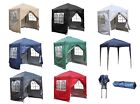 BIRCHTREE Pop Up Gazebo 2X2M Waterproof Marquee Garden Awning Party Tent Canopy
