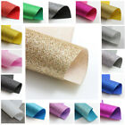 A4 *PACK of 5* FINE GLITTER FABRIC SHEETS *16 COLOURS* SPARKLE MATERIAL CRAFTS