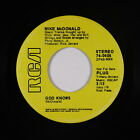scan Mike Mcdonald - God Knows - Rca - Vg  Mp3