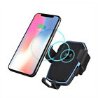 10W Qi Wireless Car Charger Fast Charging Air Vent Bracket For Samsung S10 S10+
