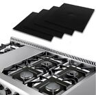 4 Pcs Gas Range Stove Top Burner Protector Reusable Liner Clean  Non-stick Cover photo