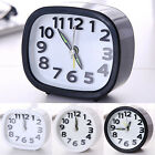 Bed Compact Travel Quartz Beep Alarm Clock Room Desk Table Snooze Analog Clocks