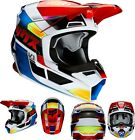 New 2020 Fox Racing Youth V1 Yorr Helmet Blue/Red All Sizes UTV ATV MX