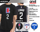 Kawhi Leonard - Los Angeles Clippers #2 NBA T-Shirt Men's